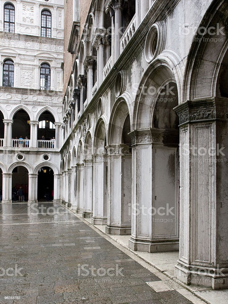 The Palazzo Ducale (Doge's Palace) stock photo