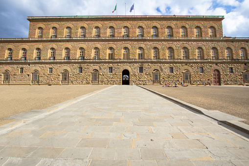 The Palazzo Pitti (Pitti Palace), Florence, Italy