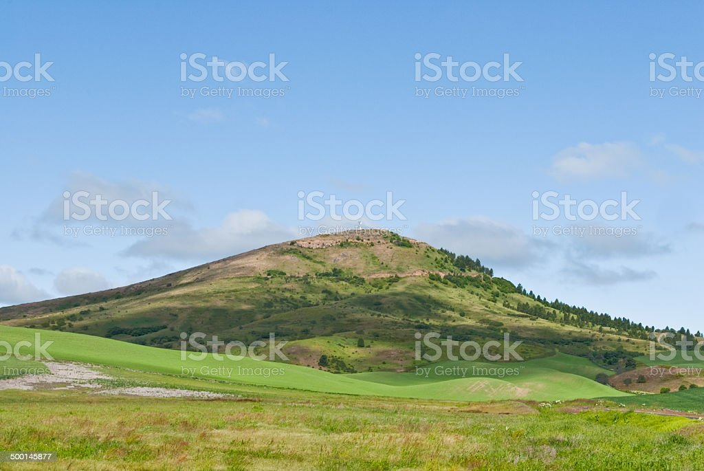 Steptoe Butte - Royalty-free Agricultural Activity Stock Photo