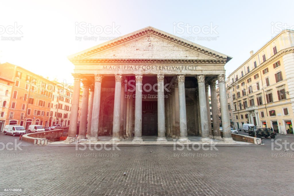 Le Panthéon de Rome, Italie - Photo