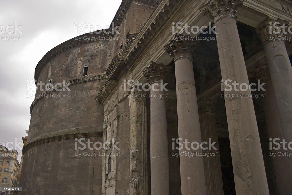 Das Pantheon in Rom, Italien Lizenzfreies stock-foto