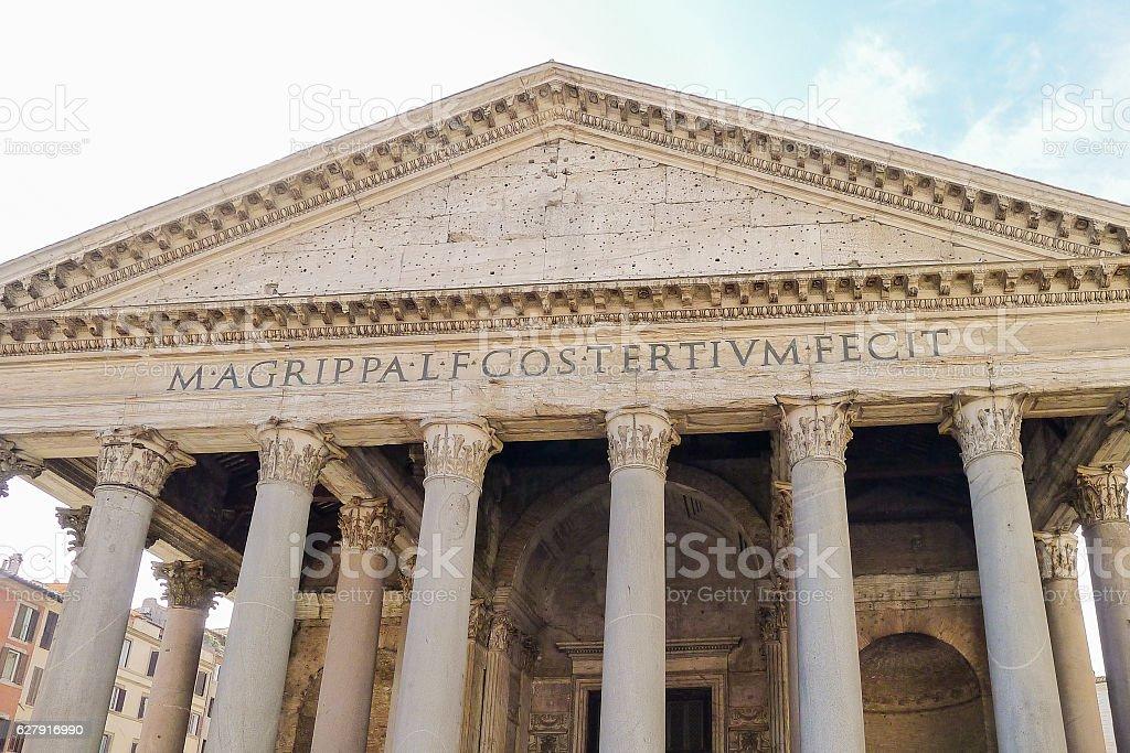 The Pantheon stock photo