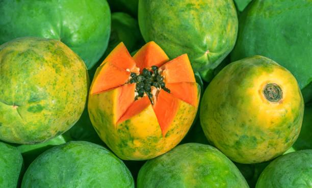 Die Papaya-Früchte – Foto