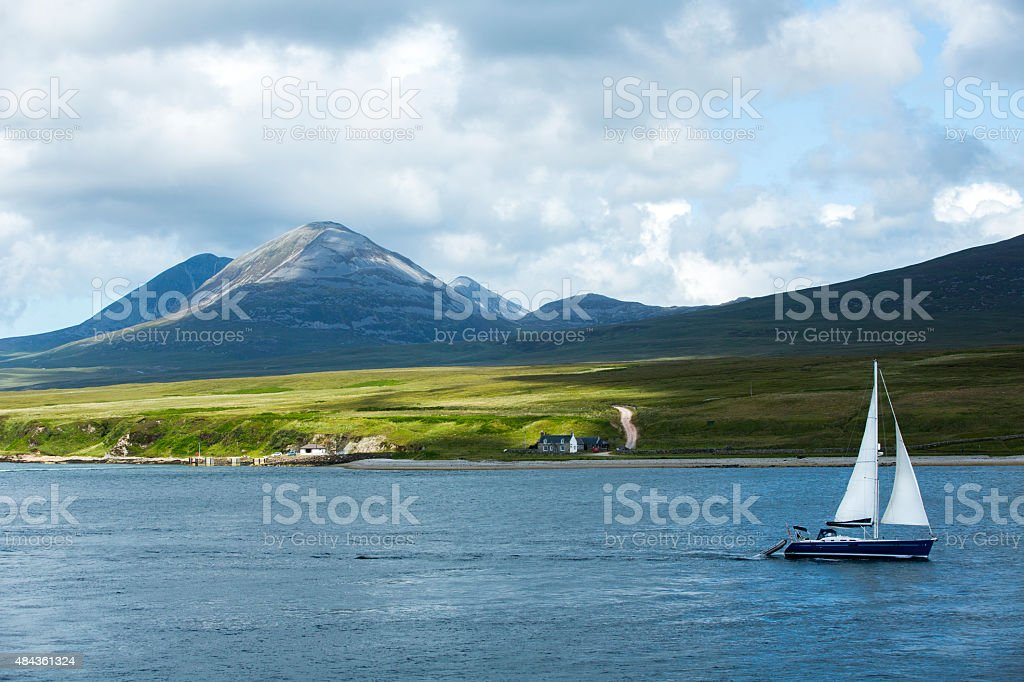 The Paps of Jura stock photo