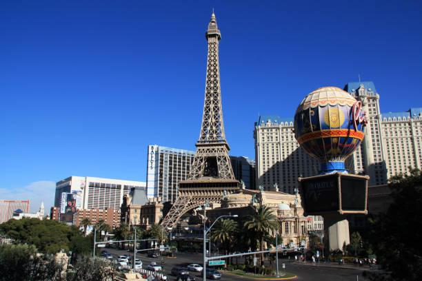 The Paris Las Vegas in Las Vegas, NV stock photo