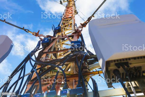 The part of telecommunication tower with installed communications picture id639849076?b=1&k=6&m=639849076&s=612x612&h=tyajrkkjb49z7ts4rkxuq9i2qmun35 oxrhcbyaovie=