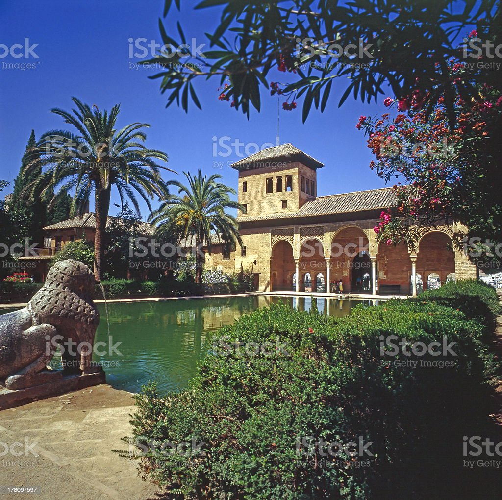 The Partal Palace, Alhambra, Spain The Partal Palace, Alhambra, Spain Alhambra - Spain Stock Photo