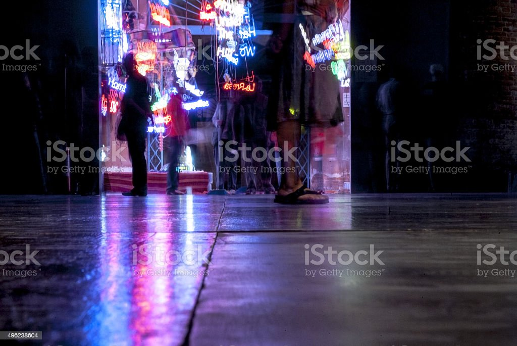 The party is over royalty-free stock photo