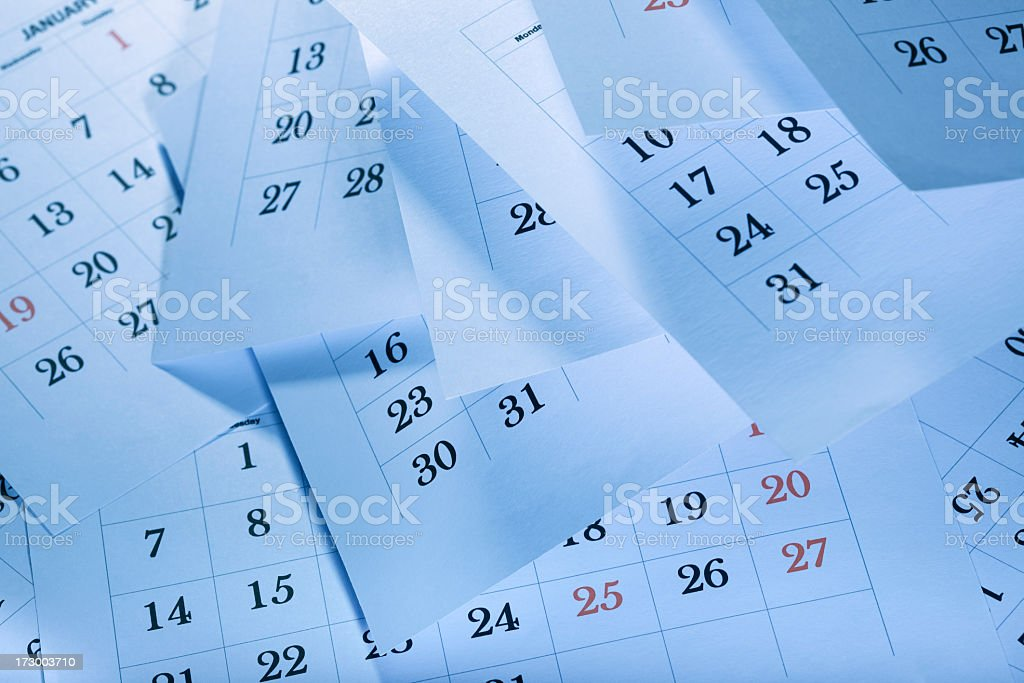 The passage of time royalty-free stock photo