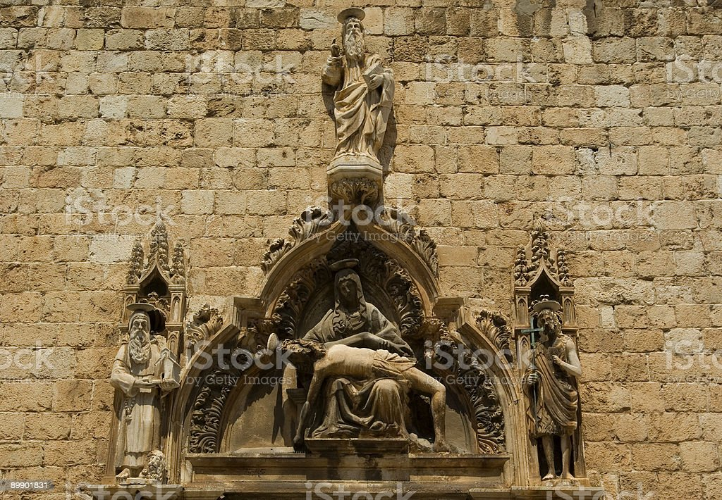 The Passion of Christ royalty-free stock photo