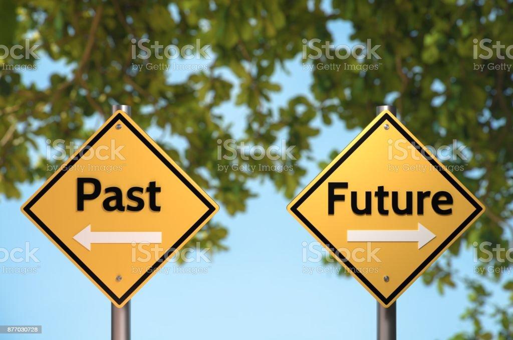 Vergangenheit und Zukunft – Foto