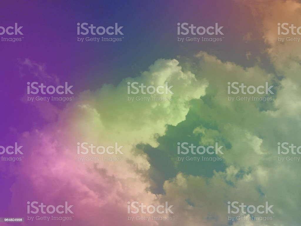 The pastel color of sky background,soft tone ,abstract art design. royalty-free stock photo