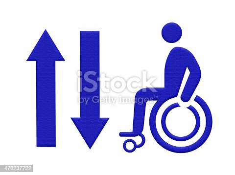 480193462 istock photo The path for the disabled ,wheelchair way 476237722