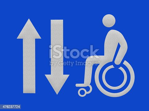 480193462 istock photo The path for the disabled ,wheelchair way 476237724