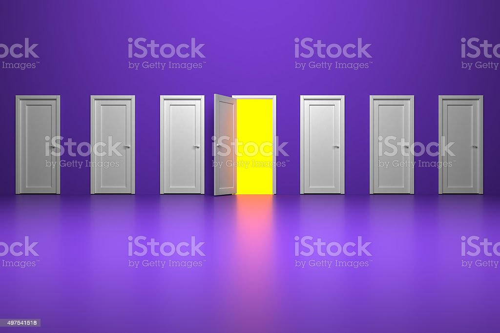 The path of prosperity / The way to success stock photo