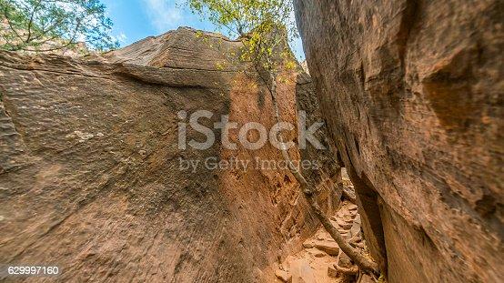 EMERALD POOLS TRAIL, Zion National Park, Utah, USA
