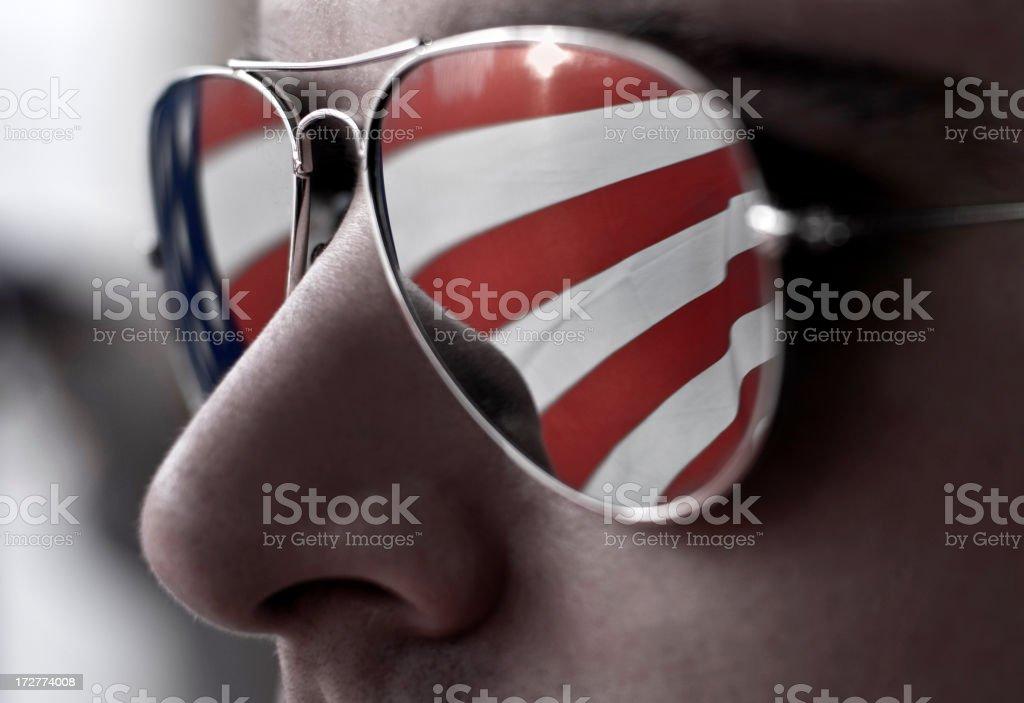 the patriot stock photo