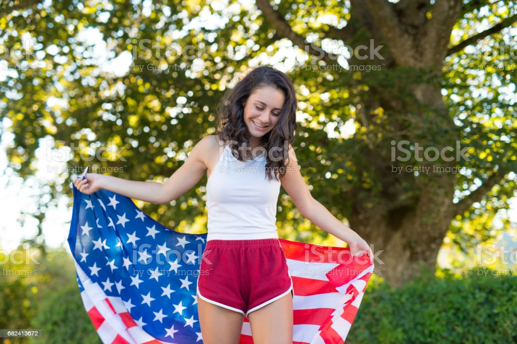 The Patriot royalty-free stock photo
