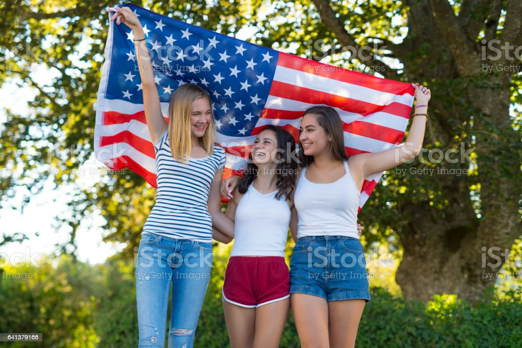 The Patriots stock photo