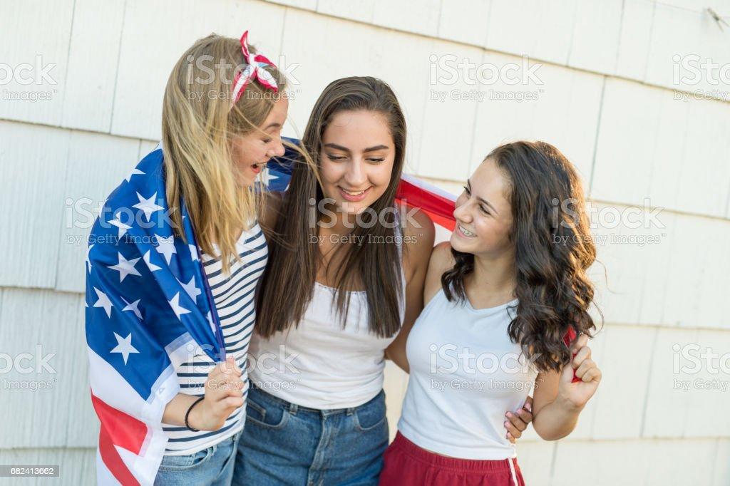 The Patriots royalty-free stock photo