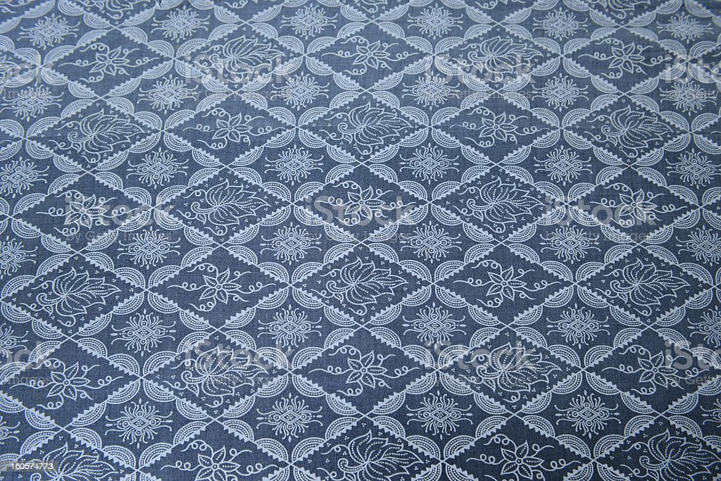 The pattern of fabric royalty-free stock photo