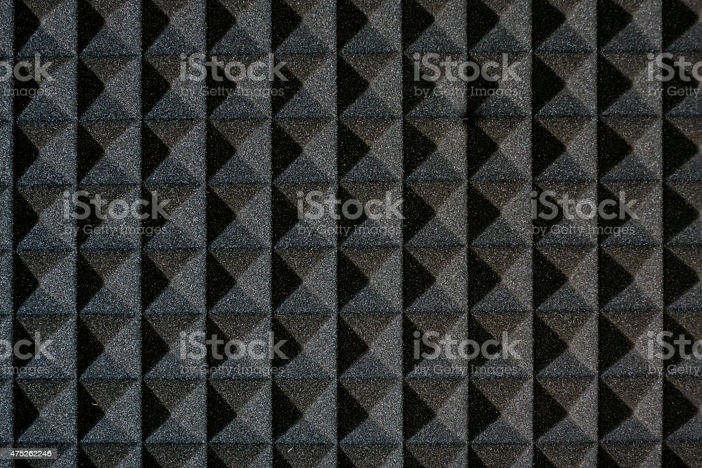 The pattern of polyurethane foam panel. stock photo