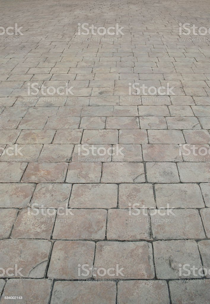 The Pattern Of Stone Block Paving Stock Photo - Download Image Now