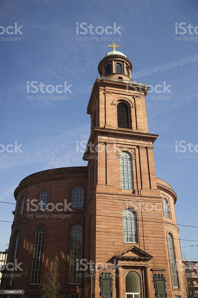The Paulskirche at Frankfurt am Main,Germany royalty-free stock photo