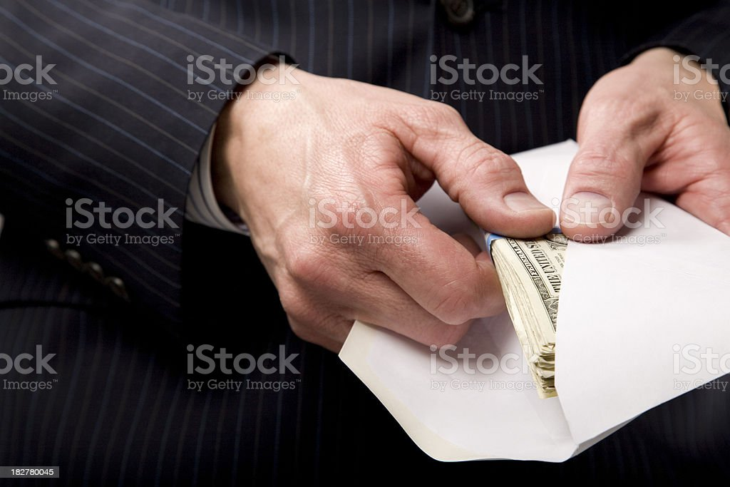 The Payoff stock photo