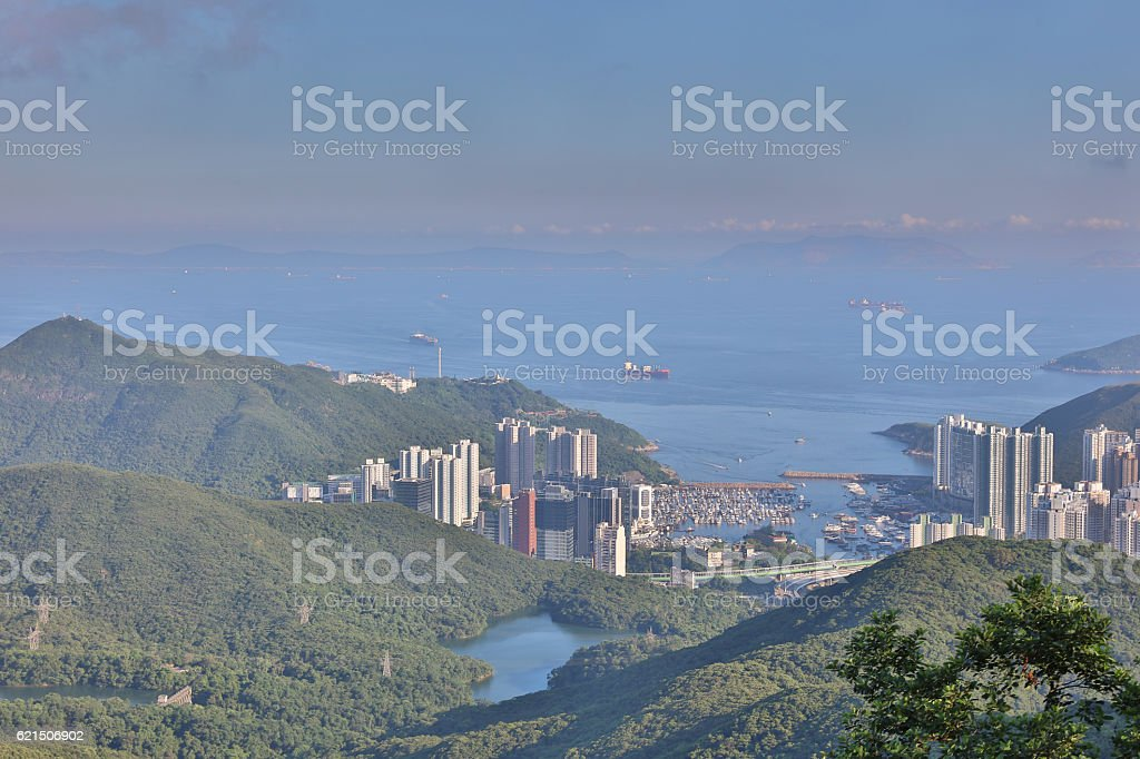 the peak view of sourth  District. foto stock royalty-free