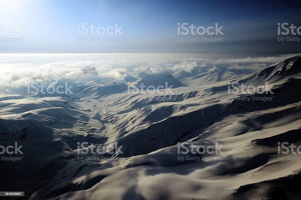 The Peaks Of Kamchatka stock photo