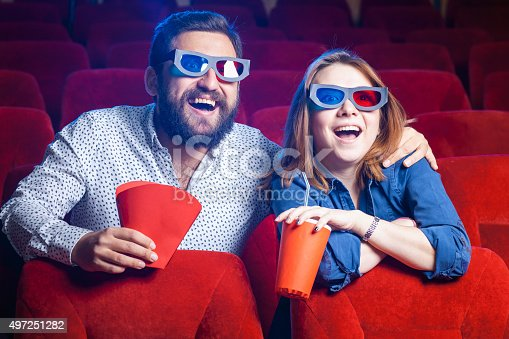 187095683 istock photo The people's emotions in the cinema 497251282