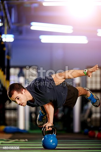 istock The perfect balance between strength and endurance 485458308