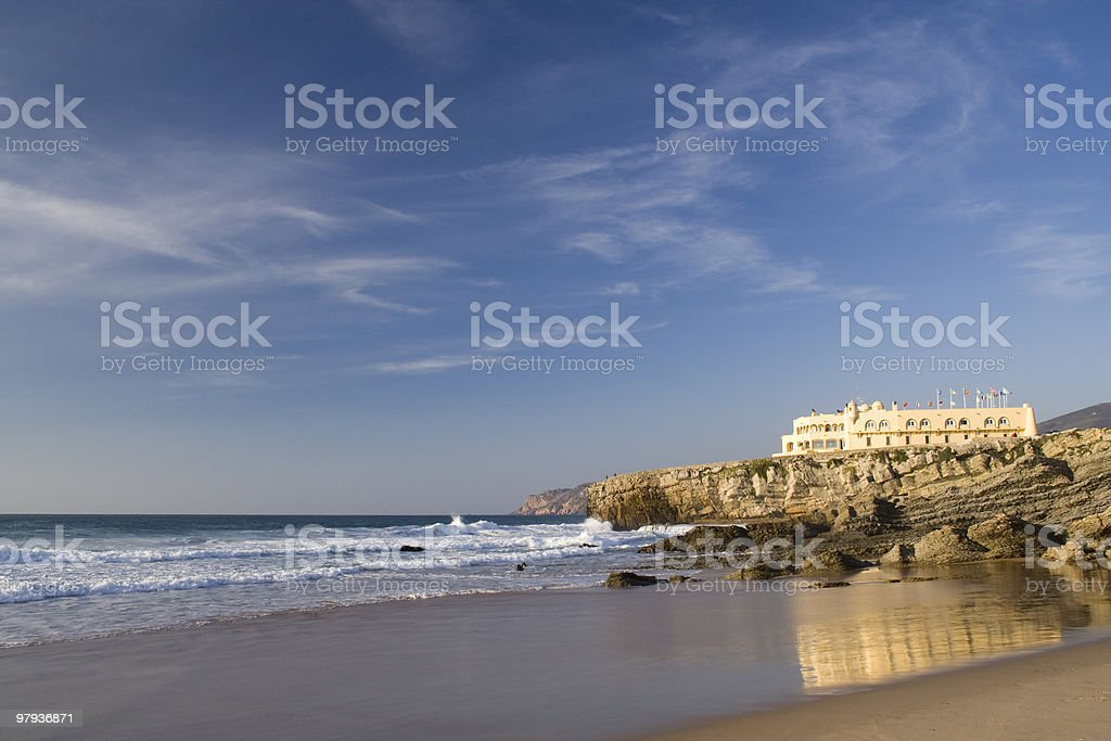 The perfect beach royalty-free stock photo