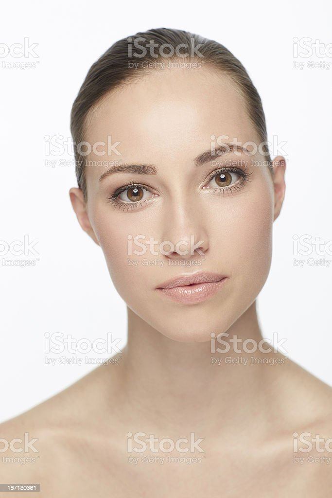 The perfect beauty regime royalty-free stock photo