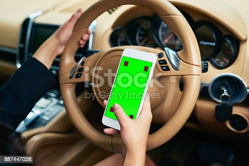 istock The perfect display for a car app 887447038