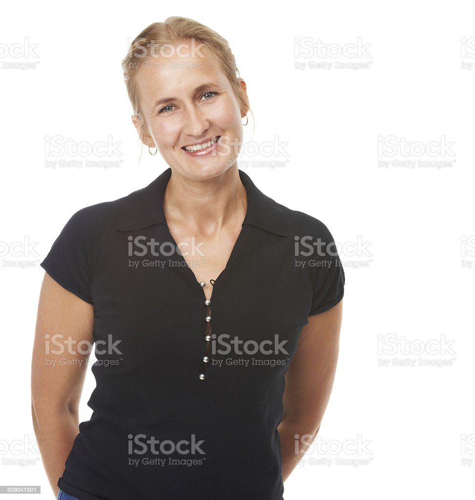 The perfect display of ageless beauty stock photo