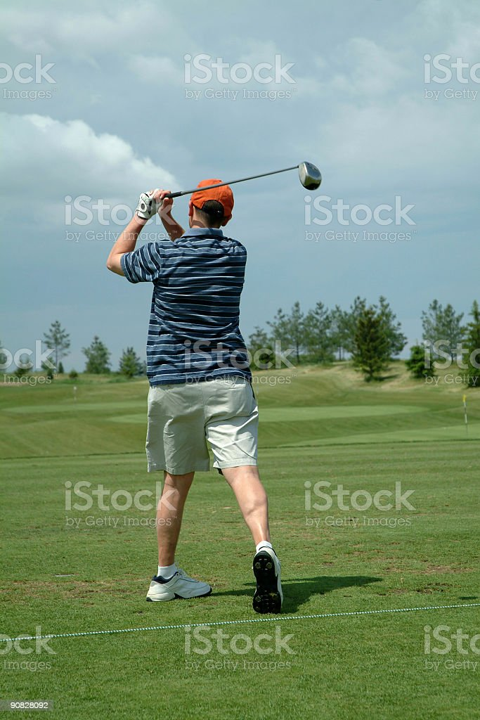 The perfect drive royalty-free stock photo