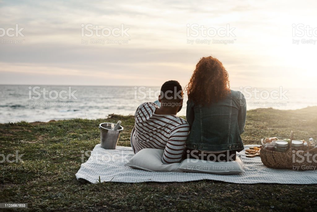 The Perfect End To A Perfect Date Stock Photo - Download