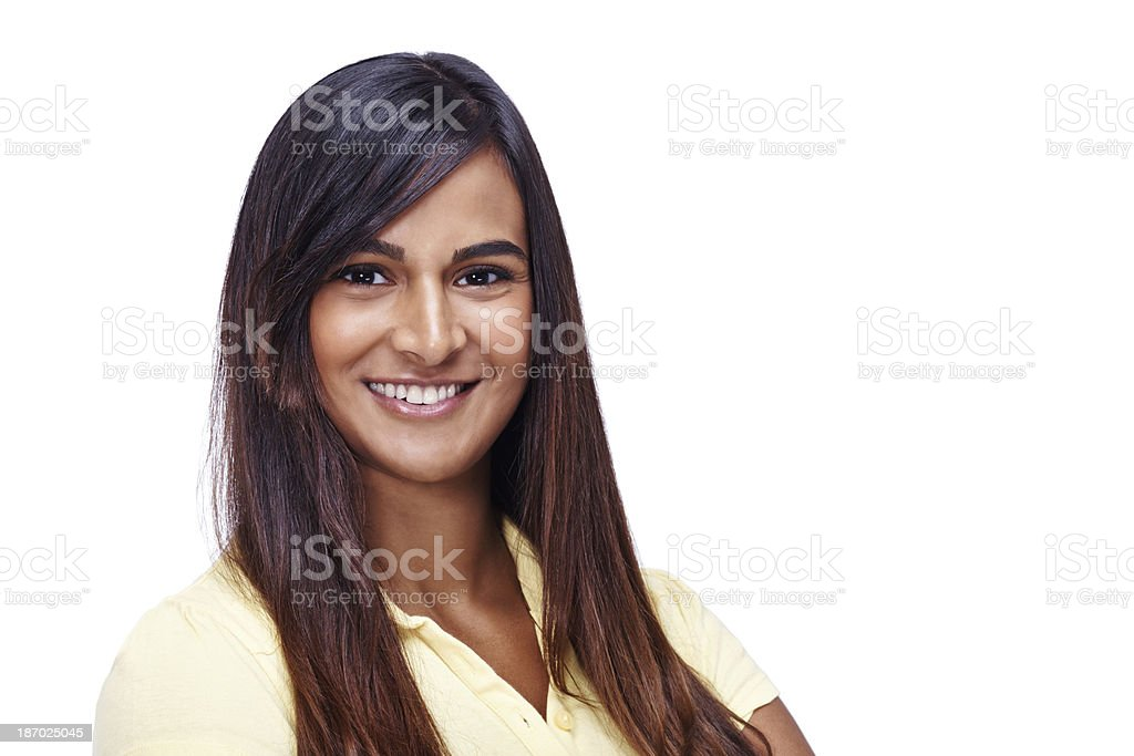 The perfect face to accompany your copyspace royalty-free stock photo