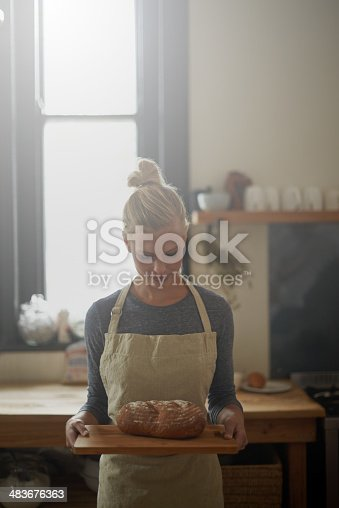 istock The perfect loaf! 483676363