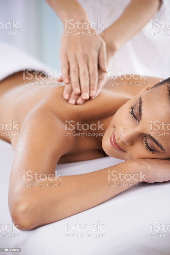 The perfect me-time stock photo