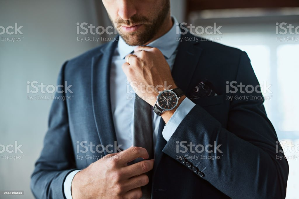 The perfect outfit means a perfect day stock photo