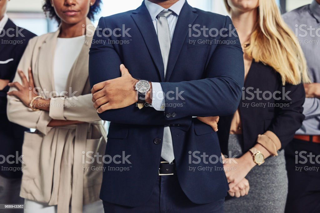 The perfect picture of professionalism stock photo