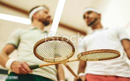 istock The perfect racket for a squash pro 1217157064