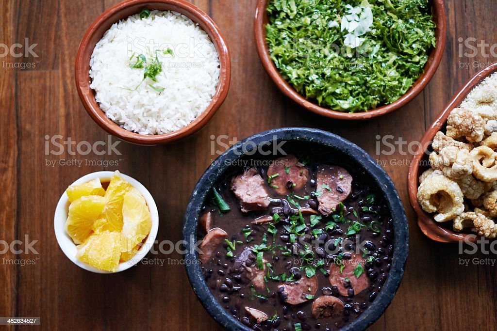 The perfect rustic meal stock photo