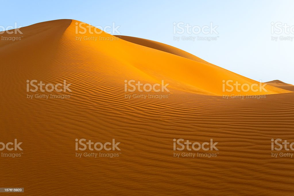 the perfect sand dune royalty-free stock photo