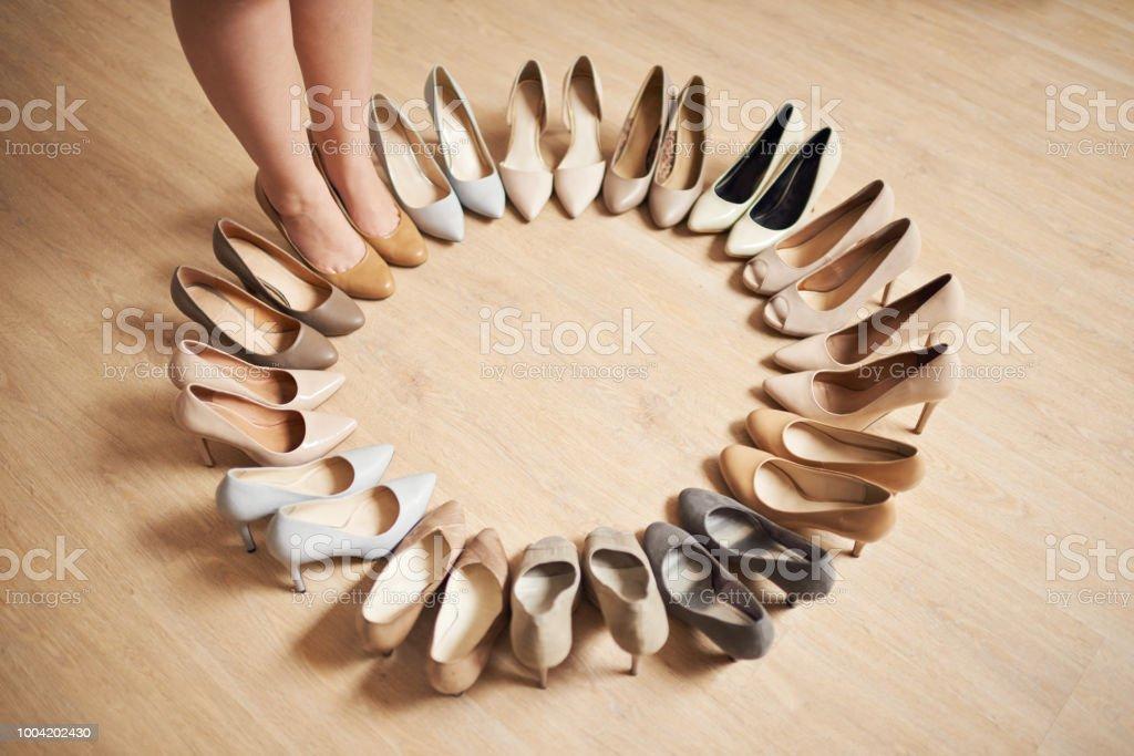 Der perfekte Schuh ist gleich um die Ecke – Foto