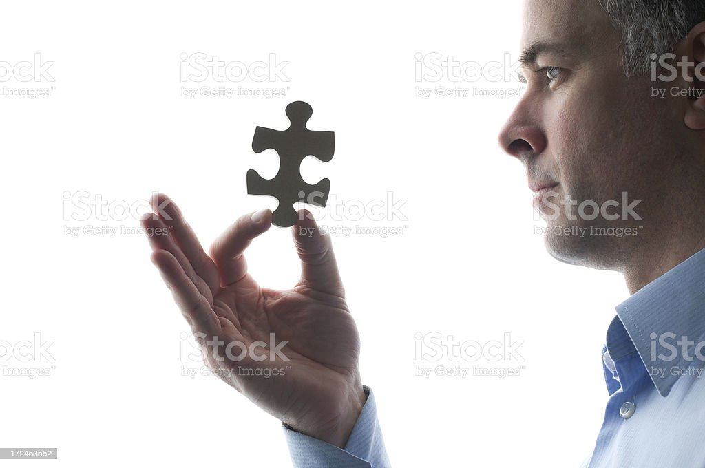 The perfect solution royalty-free stock photo