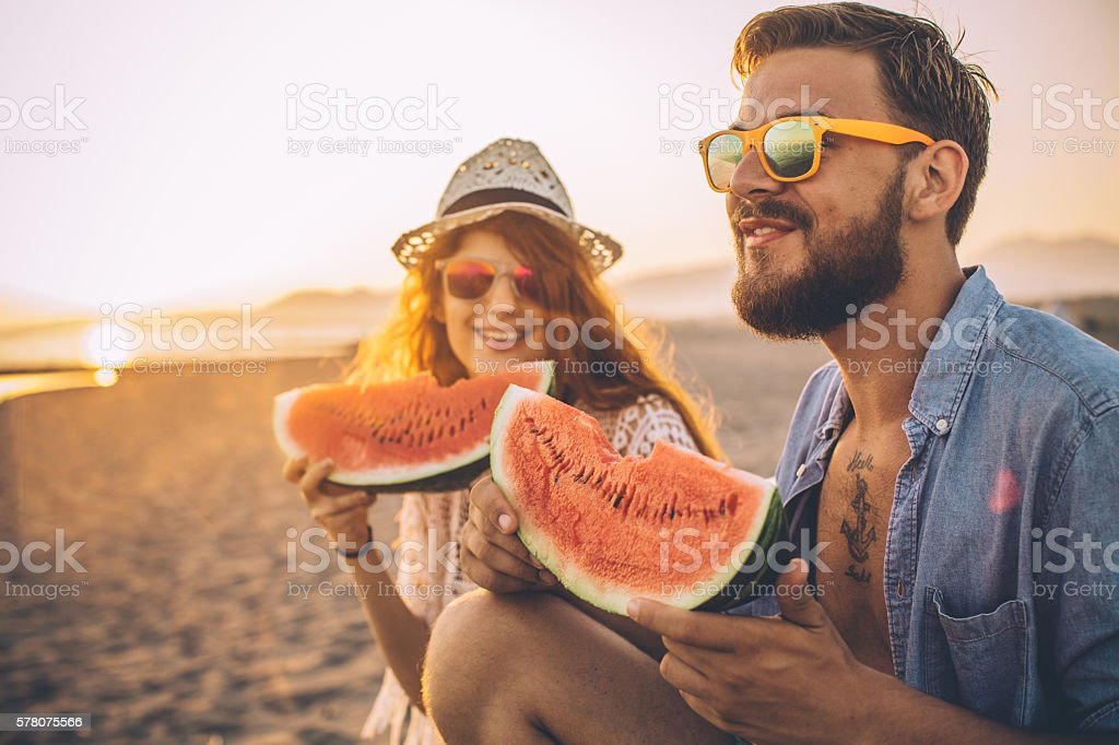The perfect summer fruit stock photo